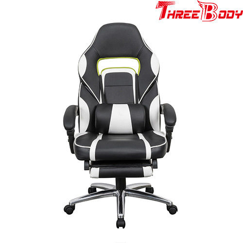 Mobile Comfy Seat Gaming Chair Breathable High Straight Back With Lumbar Support