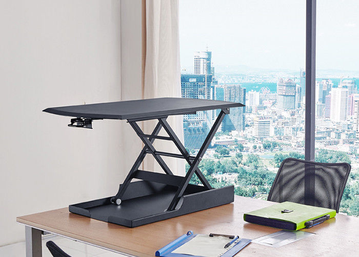 Sturdy Structure Modern Office Furniture Desk , Vertical Sit And Stand Desk